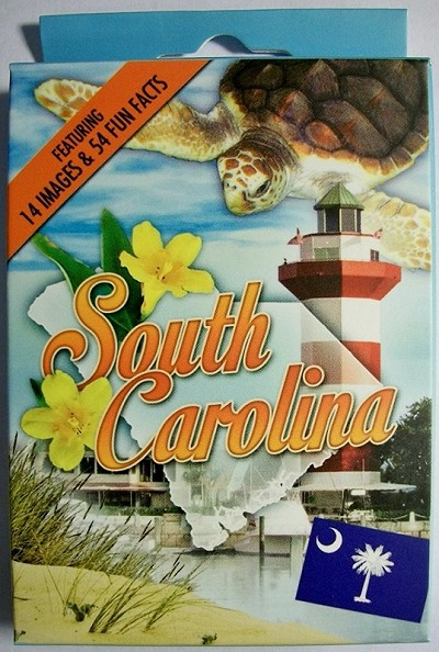 South Carolina Souvenir Playing Cards Design 1