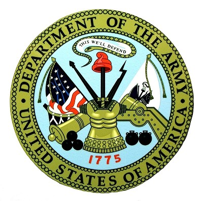 Department of the Army United States of America Seal Fridge Magnet