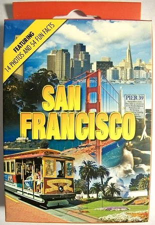 San Francisco Souvenir Playing Cards
