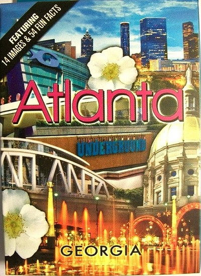 Atlanta Georgia Souvenir Playing Cards
