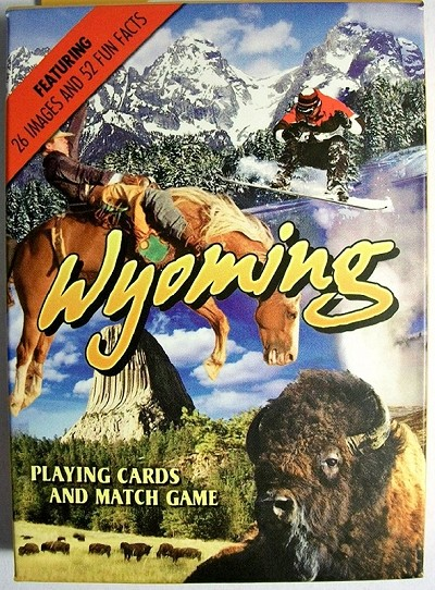 Wyoming Souvenir Playing Cards