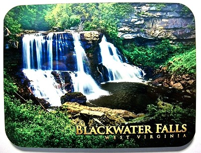 Blackwater Falls West Virginia Spring Photo Fridge Magnet Design 26