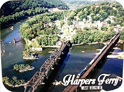 Harpers Ferry West Virginia Photo Fridge Magnet