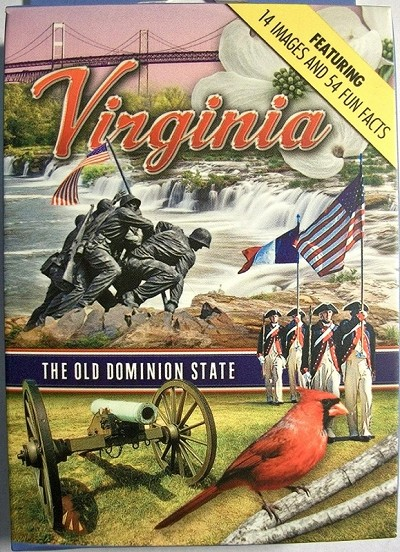 Virginia The Old Dominion State Souvenir Playing Cards