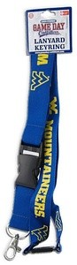 West Virginia Mountaineers Keychain Lanyard-NCAA