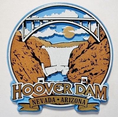 Hoover Dam Magnet Fridge Magnet Design 25
