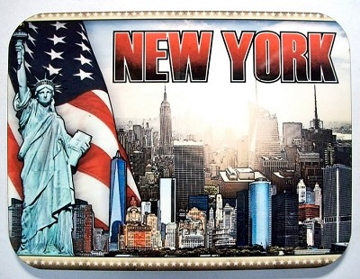 New York City Collage Fridge Magnet Design 26