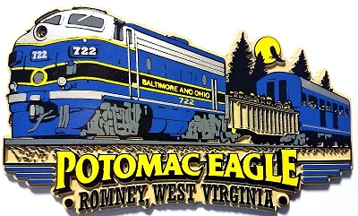 Potomac Eagle Custom Rubber Magnet