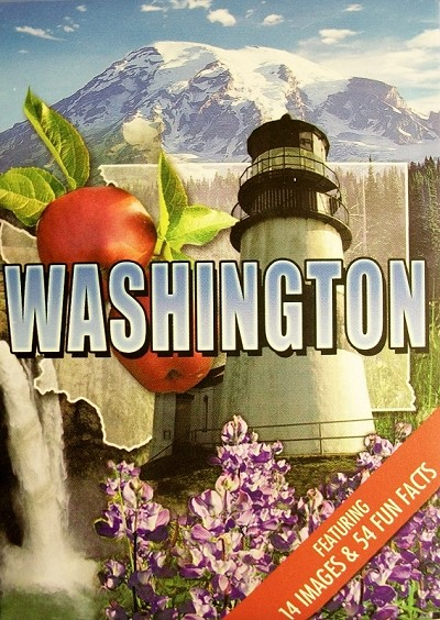 Washington State Souvenir Playing Cards