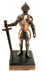 Knight with Sword Die Cast Metal Collectible Pencil Sharpener