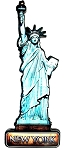 Statue of Liberty New York Fridge Magnet