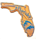 Florida Tallahassee United States Fridge Magnet