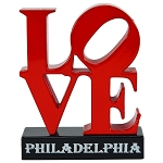 Philadelphia Love Die Cast Metal Collectible Pencil Sharpener
