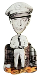 Barney Fife Real Men Only Need One Bullet Bobble Head Fridge Magnet