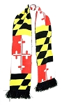 Maryland Flag Winter Knit Scarf