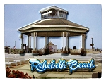 Rehoboth Beach Delaware Highlight Fridge Magnet
