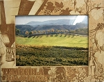 Temecula California Laser Engraved Wood Picture Frame (5 x 7)