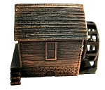 Grist Mill Die Cast Metal Collectible Pencil Sharpener