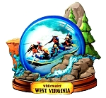Whitewater West Virginia Artwood Fridge Magnet