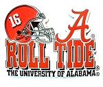 Alabama Crimson Tide Helmet 16 Magnet