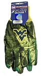West Virginia University Camo Sport Utility Gloves