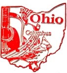 Ohio Columbus United States Fridge Magnet