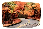 Country Roads Take Me Home North Carolina Fridge Magnet