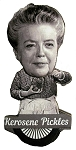 Aunt Bee Kerosene Pickles Bobble Head Artwood Fridge Magnet