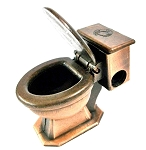 Toilet Die Cast Metal Collectible Pencil Sharpener