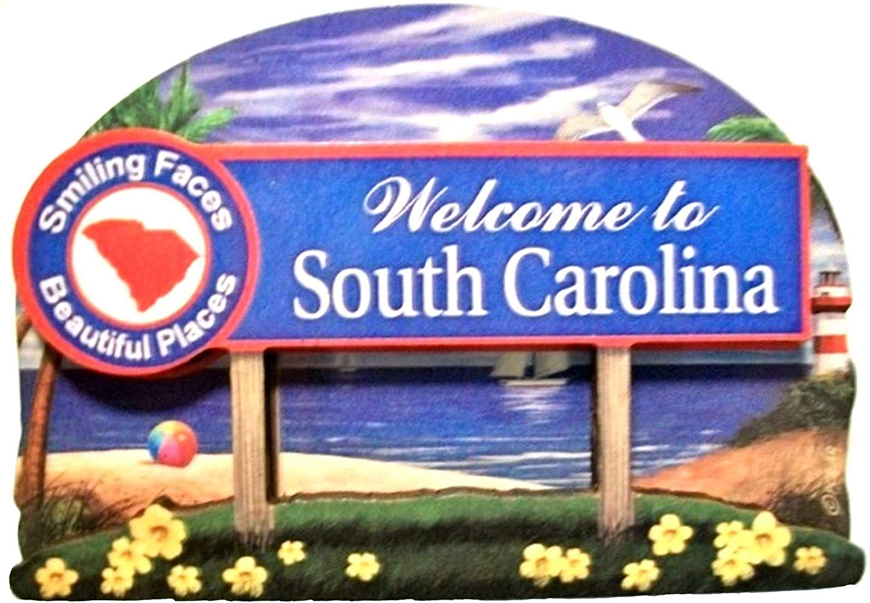 South Carolina Decowood Fridge Magnet