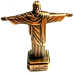 Christ Statue Die Cast Metal Collectible Pencil Sharpener