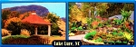 Lake Lure North Carolina 2 Scene Fridge Magnet