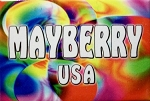 Mayberry USA Tye Die Fridge Magnet