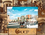 University of Central Florida Engraved Wood Picture Frame (5 x 7)