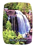 North Carolina With Waterfall Artwood Fridge Magnet