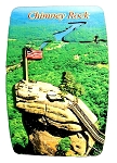 Chimney Rock North Carolina Artwood Fridge Magnet