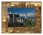Germany Laser Engraved Wood Picture Frame