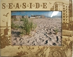 Seaside Oregon Laser Engraved Wood Picture Frame (5 x 7)