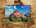 Bell Rock Arizona Laser Engraved Wood Picture Frame (5 x 7)