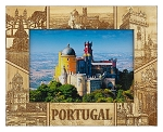 Portugal Laser Engraved Wood Picture Frame (5 x 7)