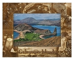 Galapagos Island Laser Engraved Wood Picture Frame (5 x 7)