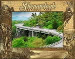 Shenandoah National Park Engraved Wood Picture Frame