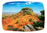 Pilot Mountain North Carolina Artwood Fridge Magnet