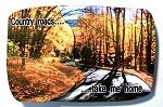 Country Roads Take Me Home Artwood Fridge Magnet