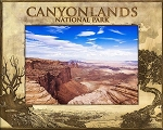 Canyonlands National Park Laser Engraved Wood Picture Frame