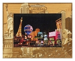 Welcome to Fabulous Las Vegas Nevada Laser Engraved Wood Picture Frame