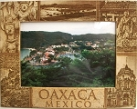 Oaxaca Mexico Laser Engraved Wood Picture Frame (5 x 7)