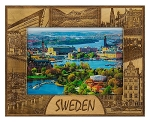 Sweden Laser Engraved Wood Picture Frame