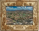Mesa Arizona Laser Engraved Wood Picture Frame (5 x 7)