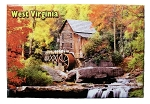 Babcock State Park West Virginia Fridge Magnet